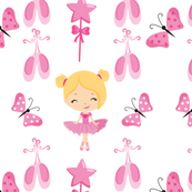Little Ballerina Fabric