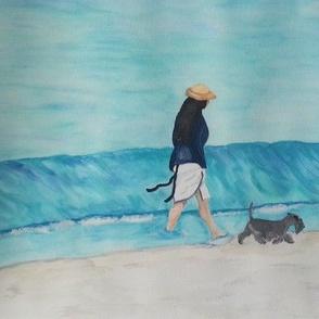 Walk on the Beach w pal