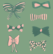 lovely ribbons_green
