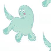 Pretty Mint Dino-la