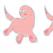 Pretty Pink Dino-la