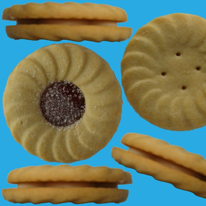 Cut'n sew Biscuit cushions