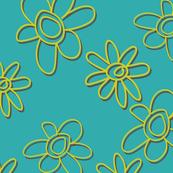 softpopretrobright-teal-Daisies