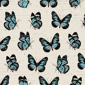 Butterflies Scatter