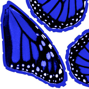 Blue Monarch Butterfly Costume