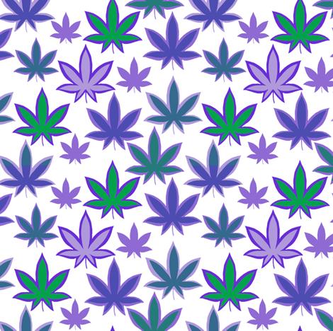 Pot Leaf Purples