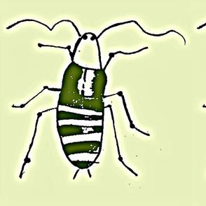 green cockroach