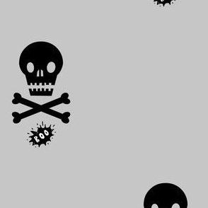Halloween Skulls Boo!