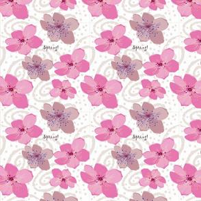 Peach Blossom Swirl