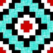 Turquoise-weave West by Southwest by Su_G