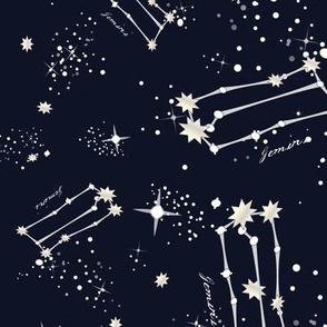 Zodiac Constellations - Gemini