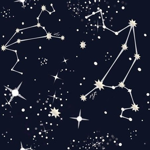 Zodiac Constellations - Leo