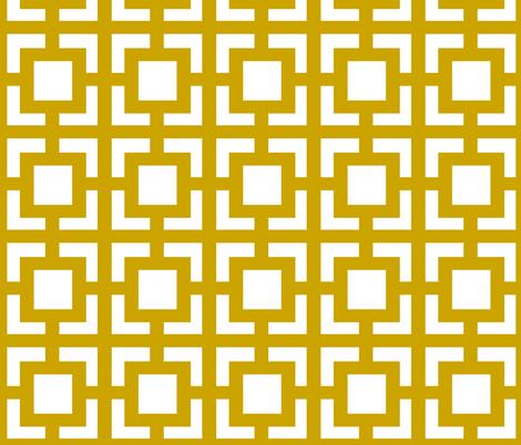 Moroccan Square Khaki Gold