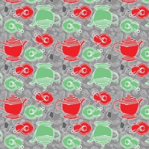 Red and Green Tea!