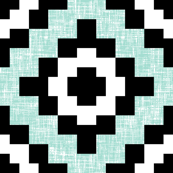 Mint weave West by Southwest by Su_G