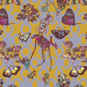 Ghana Butterfly Garden Background