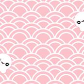 OctoSeigaiha (Baby Pink)