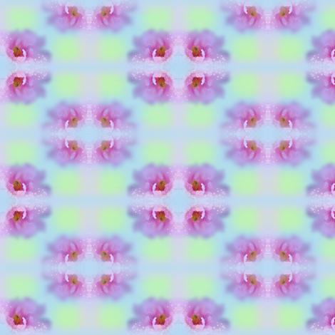 Pink Flowers mirror
