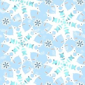Snow Bunny Flakes 2
