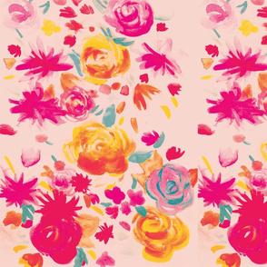 Fierce Flourishing Flower Pattern