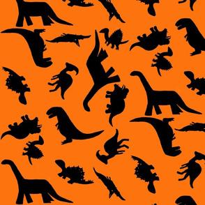 Dinos large orange