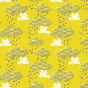 Rain Galahs - Yellow