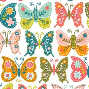 Vintage Butterflies