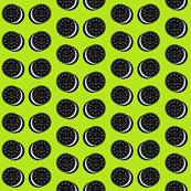 Oreo fabric spring green