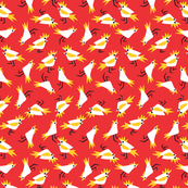 Cockatoos_red