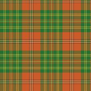 Leask tartan weathered