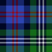 Davidson double clan tartan
