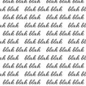 blah blah blah White