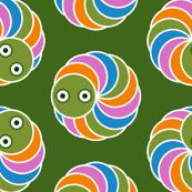 caterpillar dot 3 - butterfly