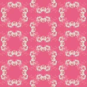 Flower Circle Pink