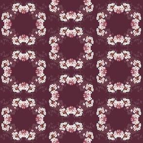 Flower Circle Purple