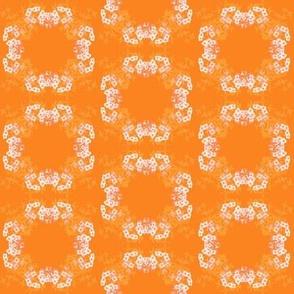 Flower Circle Orange