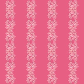 Flower Stripe Pink