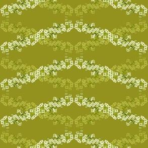 Flower Wave Green
