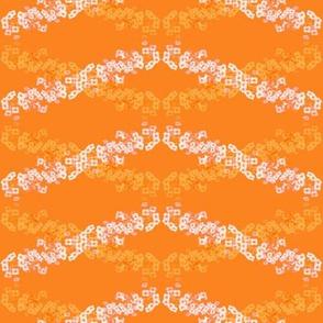 Flower Wave Orange