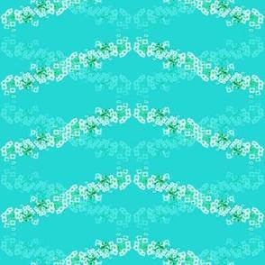 Flower Wave Blue