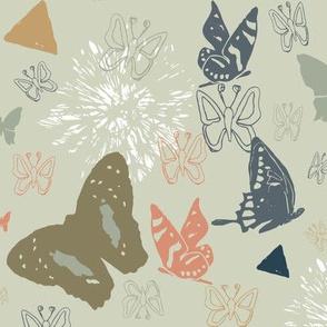 Autumn Butterfly Fiesta
