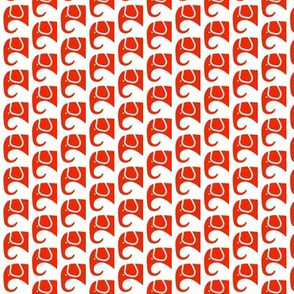 SMALL Elephants Red