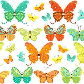 Boho Butterfly Parade