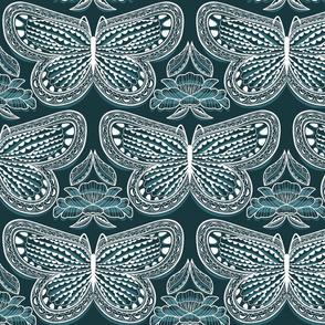 Butterfly Tonal Night