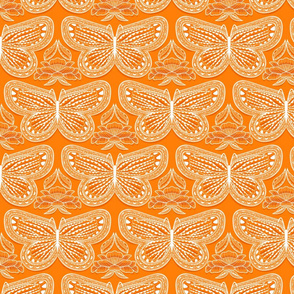 Butterfly Tonal Small Orange