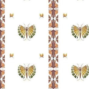 Deco dragonflies Vertical