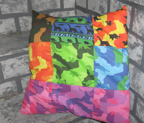 Dino Camo Colored