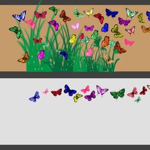Butterflies 1 yard