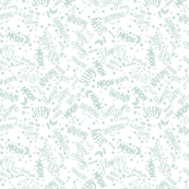 Baby Text Mint on White