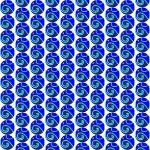 Small Blue Elephant Circles